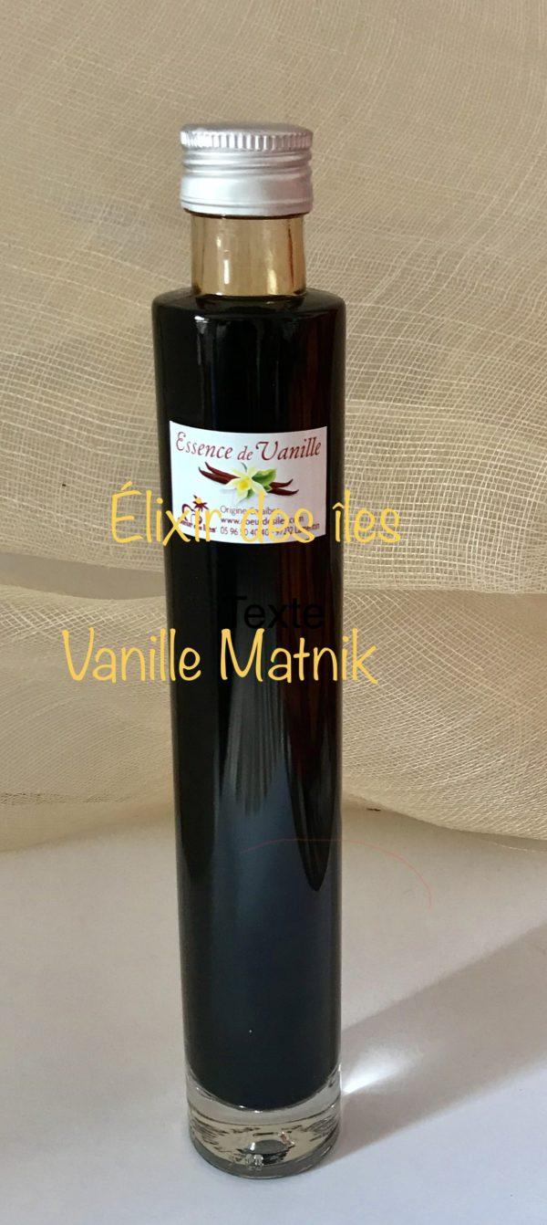 l'essence de vanille